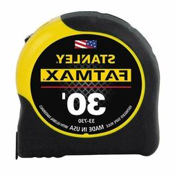 STANLEY FATMAX 30 FOOT TAPE RULE~~~MADE IN USA!!!! SHIPS FAS