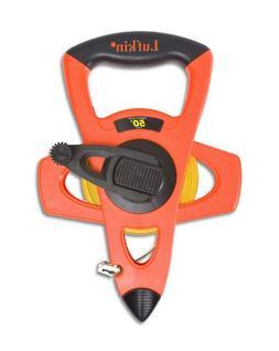 "Lufkin FE050D 1/2""x50' Engineer's Hi-Viz Orange Fiberglass T"