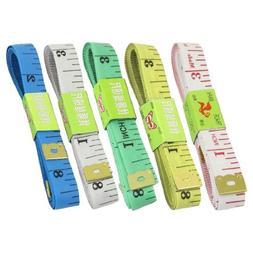 "Uxcell Fiber Glass Flat Ruler Tape Measure , 1.5m/60""/1.3cm"