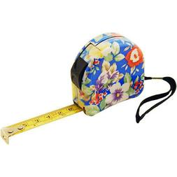 Flower Decorated Tape Measure, 10 Foot- Hand Tools for Women