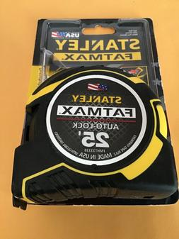 Stanley FMHT33338L FatMax 25 ft. x 1/4 in. Auto Lock Measuri