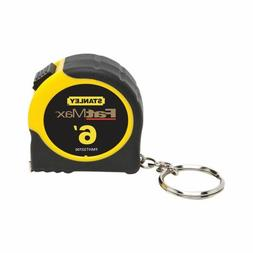 Stanley FMHT33706W Fat Max Keychain Tape Rule, 1/2-Inch by 6