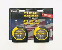 Stanley: FMHT74038: FATMAX 25' Tape Measure: 2 Pack: USA Mad