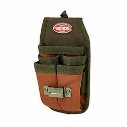Bucket Boss Four-Barrel Tool Sheath with FlapFit in Brown, 5