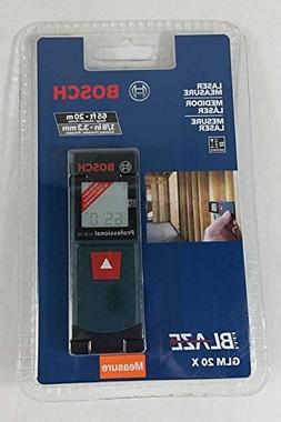 Bosch GLM20 Backlit 65 ft. Laser Instant Distance Tape Measu