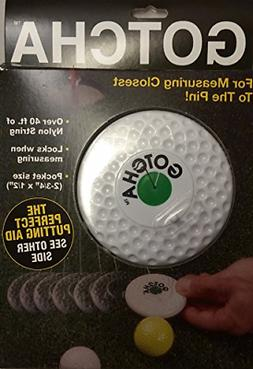Charter Gotcha Golf Tape Measure Closest To Pin Fits In Bag