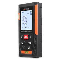 Tacklife HD60 Mute Laser Measure 196 Feet Laser Distance Met