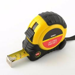 "Heavy Duty 25 ft x 1"" English & Metric Tape Measure Measurin"