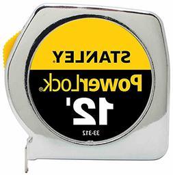 """36 Pack Stanley 33-312 12' x 3/4"""" Heavy-Duty PowerLock Tape"""