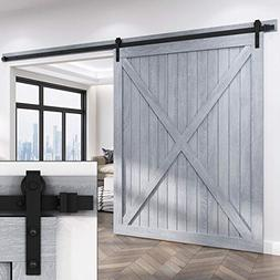 EaseLife 12 FT Heavy Duty Sliding Barn Door Hardware Track K