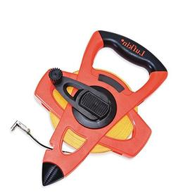 "Lufkin FE200 1/2"" x 200' Hi-Viz Orange Fiberglass Tape Measu"