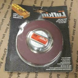 "LUFKIN HW50 TAPE MEASURE 3/8"" WIDE X 50 FT LENGTH - NEW"