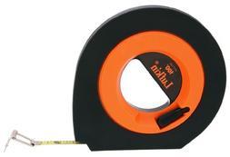 Lufkin HYT100 3/8 x 100' Hi-Viz Orange Speedwinder Steel Lon