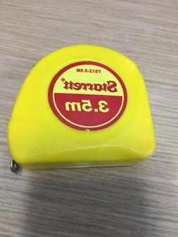 Starrett KTS12-3.5M-N ABS Plastic Case Yellow Measuring Pock