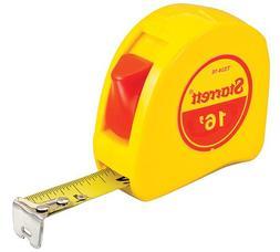 Starrett KTS34-16-N ABS Plastic Case Yellow Measuring Pocket