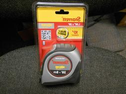 "STARRETT KTXP106-26ME-N TAPE MEASURE, 1""X 26FT /8M, 1/16MM"