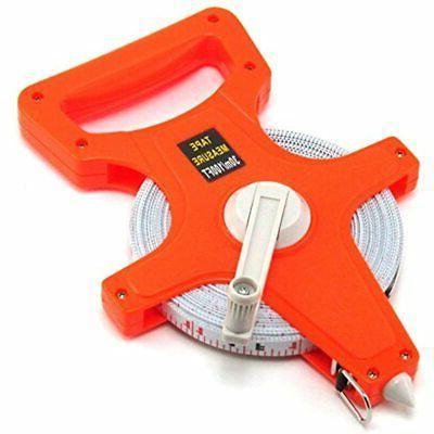 100 feet open reel fiberglass tape measure