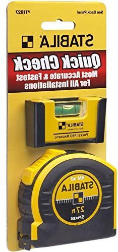 Stabila 11927 Pocket Pro Quick Check  Level