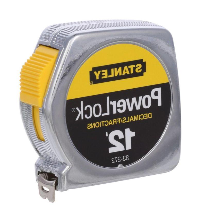 12 ft powerlock tape measure w decimal