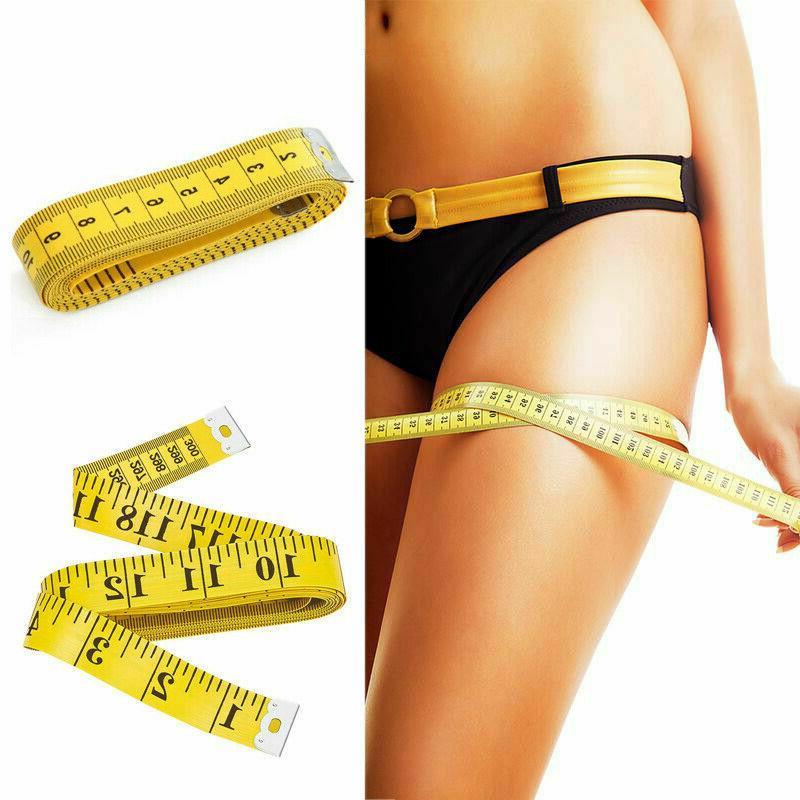 120''/ 10′ Tailor Seamstress Body Measuring Ruler Tape Mea