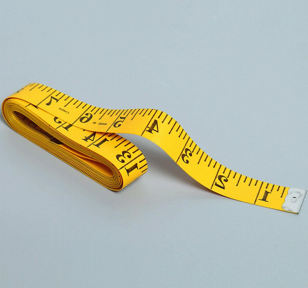 """Hot Body Measuring Sewing Cloth Tape Measure Soft 120"""" Gift"""