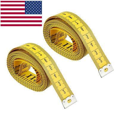 2 pack new 120 body measuring ruler