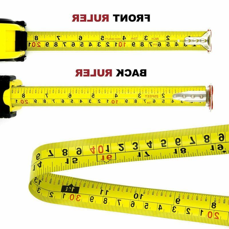 25 Measuring Tape Retractable Heavy