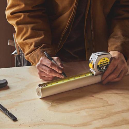 25 PowerLock Tape Measure Durable Tool Belt Clip ft.