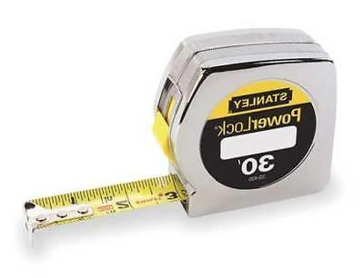 "STANLEY 33-430 30 ft. Tape Measure, 1"" Blade"