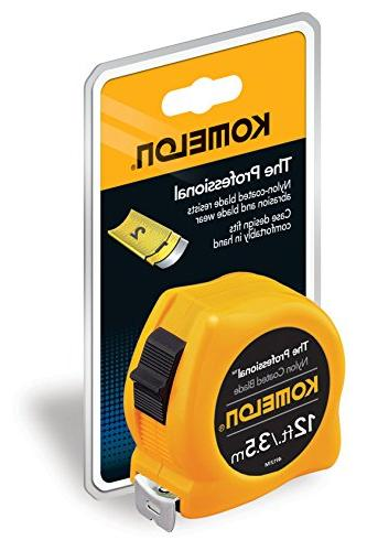 Komelon The Professional 12-Foot Scale Power Tape,
