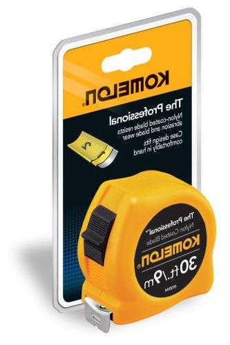 Komelon The 30-Foot Scale Tape, Yellow