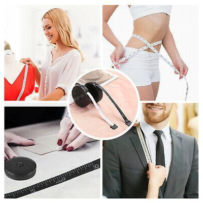 "60""/150cm Tape Measure Body Measuring Ruler Sewing Tailor"