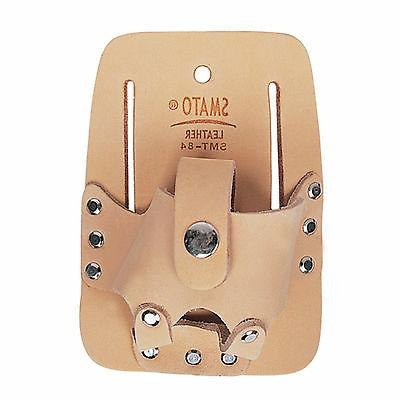 Leather Pocket Tool Bag Carpenter Electrician Measuring Tape