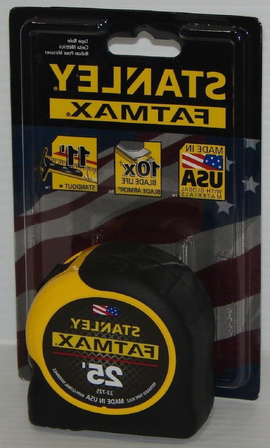 Stanley 33-725 25' FATMAX Industrial Grade BladeArmor Tape M