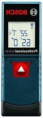 Bosch BLAZE GLM 20 Compact Laser Distance Measure, 65-Feet