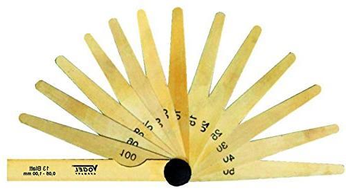 brass feeler gauge