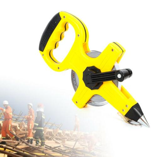 30/50/100m Surveyor Builder Handle Carbon steel Measure Meas