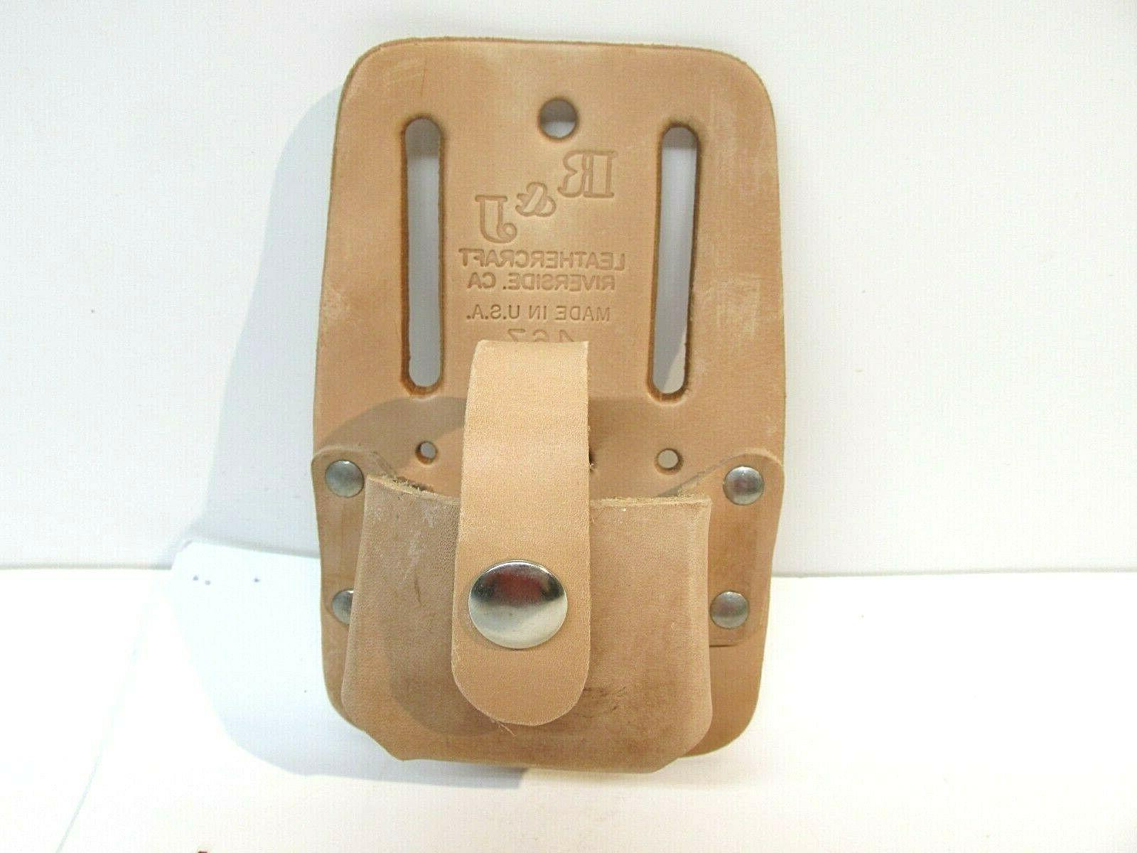 carpenter tools leather tape measure belt holder