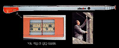 crl 197 tele tape measuring sticks