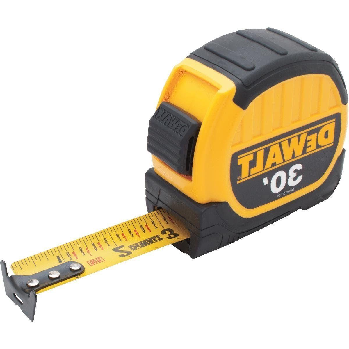 DEWALT 30' Measure 10' Standout HEAVY DUTY TAPE