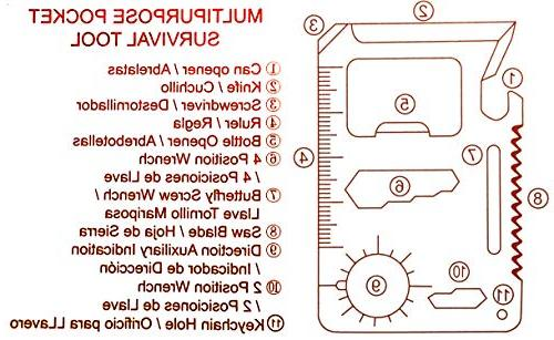 eTape16 ET16.75-DB-RP Tape Measure, 11 1 Multipurpose Mini Portable Pocket Multi-Z-Tool