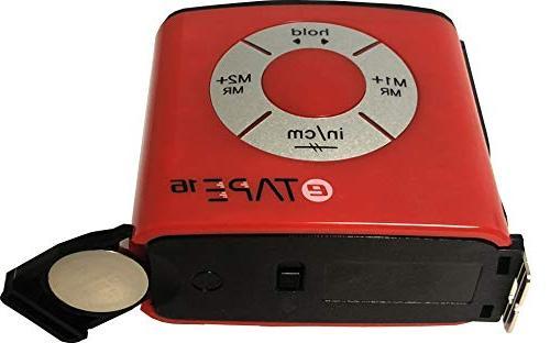 eTape16 ET16.75-DB-RP Tape Measure, and Metric & 11 Mini Wallet Pocket