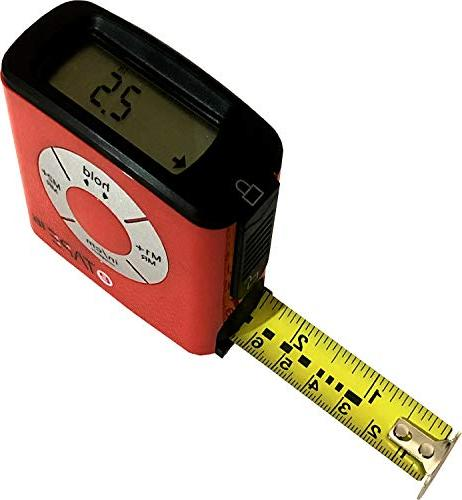 eTape16 ET16.75-DB-RP Measure, Inch and 11 in 1 Mini Size Pocket