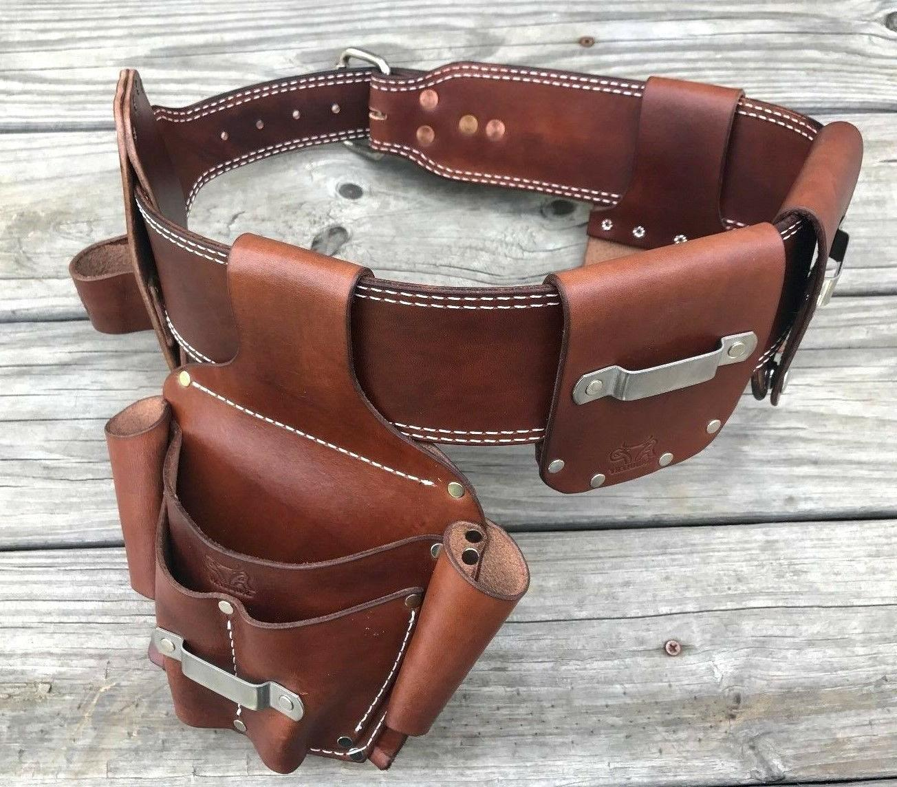 Leather Tape Low Belts*