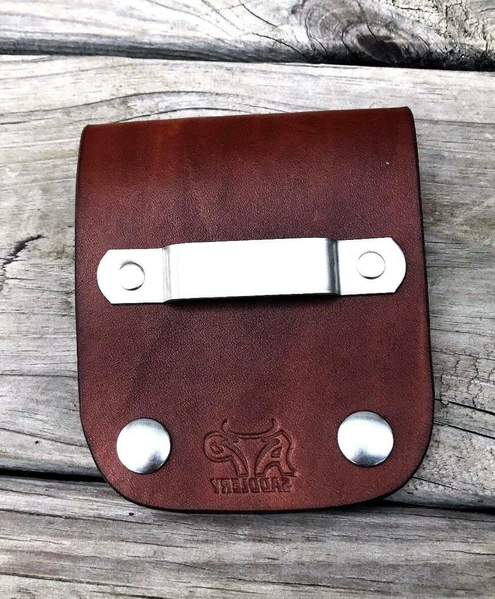 Leather Holder Low *Fits Belts*