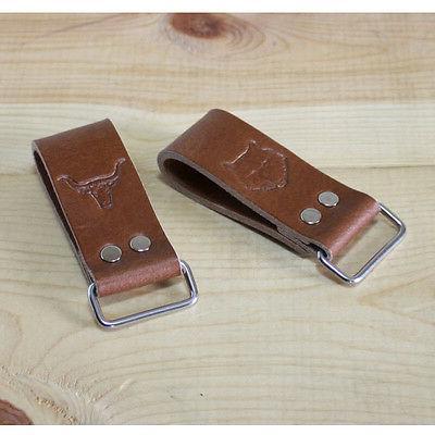 Leather Work Belt Loop Holder_Men's Belt Tape Measure, Layou