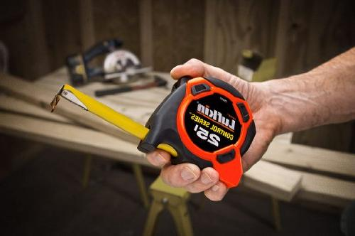 Lufkin CS8525 Power Tape, 25-Feet, Orange/Black