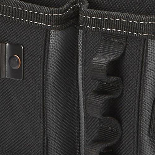 ToughBuilt Pouch + Shoulder Strap, Holder, Pockets, Loops, Tape Measure