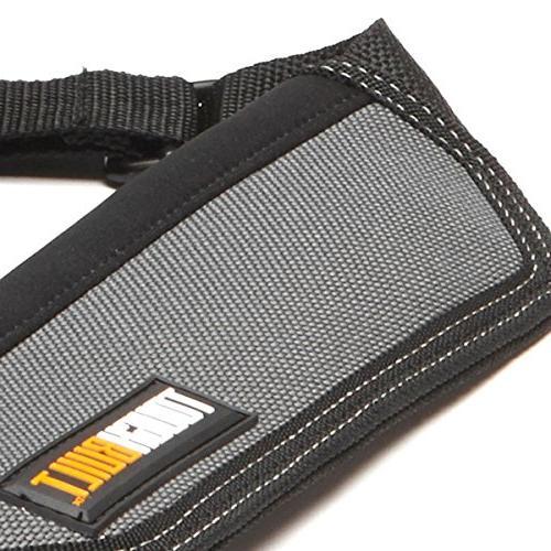 ToughBuilt + Shoulder Strap, Adjustable Holder, Tool Pockets, Pockets Loops,