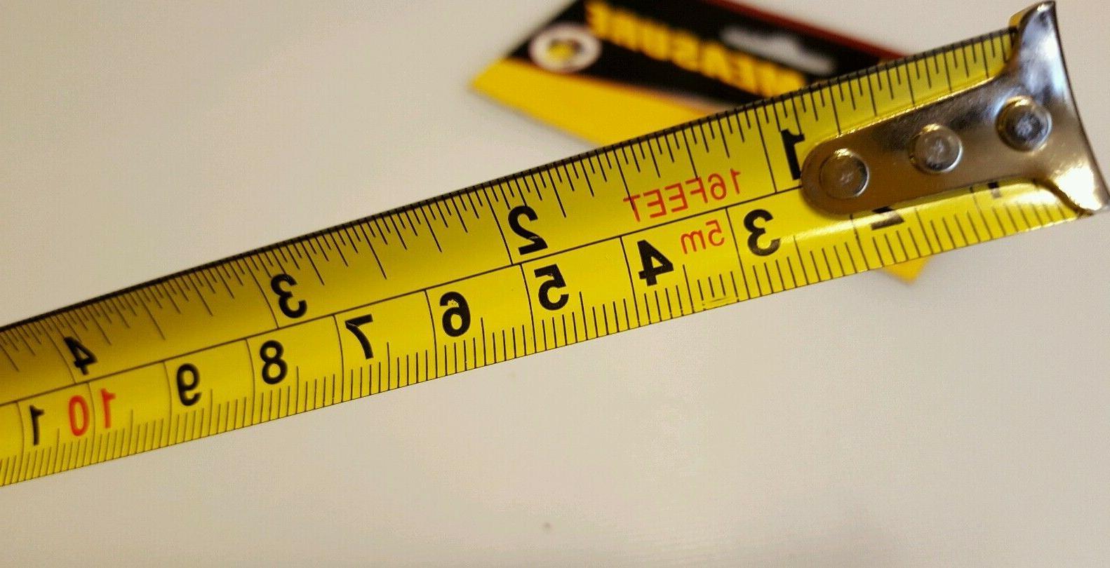 Measuring 16 ft x metric